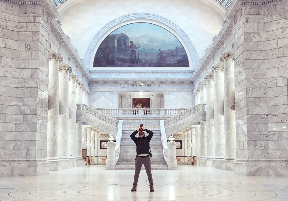Tyson at the capitol