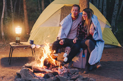 Camping Lifestyle Shoot For Lifetime