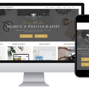 Introducing the Launch of the Newly Designed Jenny Robertson Design Website