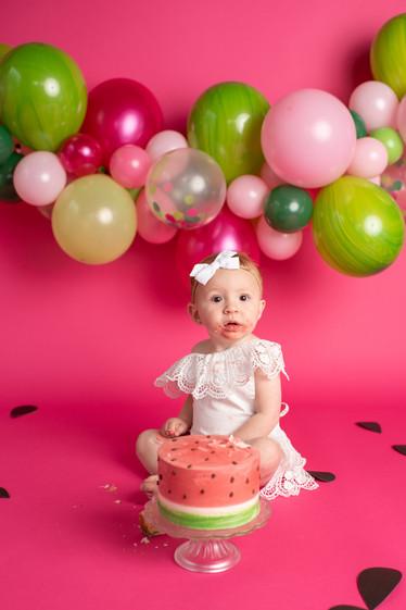 Port Orchard cake smash photography
