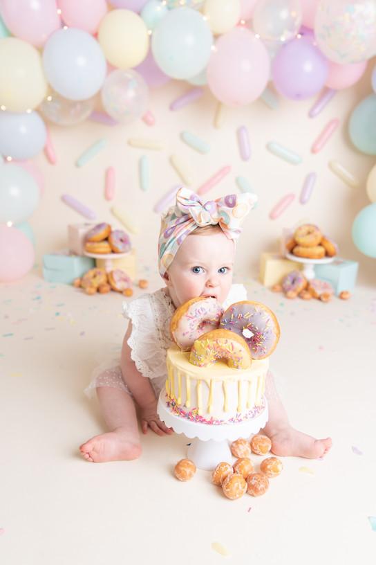 Port Orchard cake smash photographer