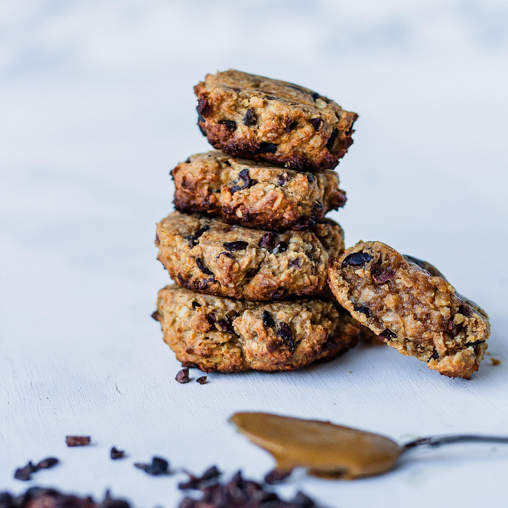 Heerlijke pindakaas koekjes met chocolade als ultieme snack