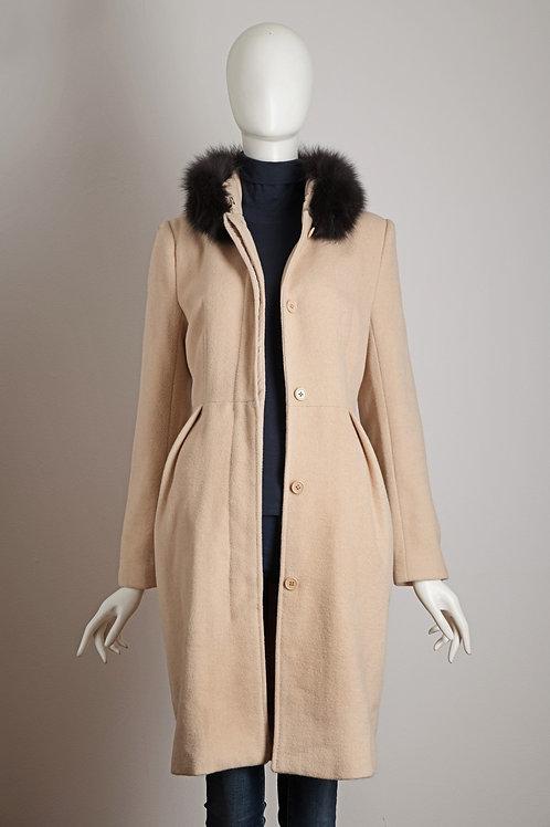 La reine Blanche шерстяное пальто