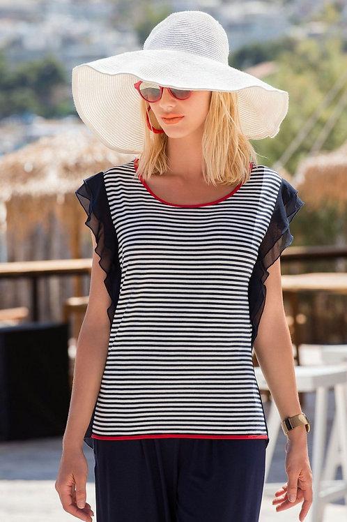 Derpouli блузка с коротким рукавом