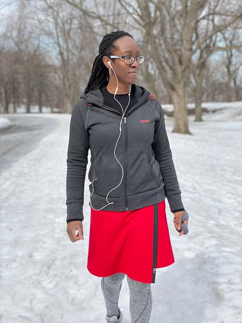 TUKUAN knee length in red