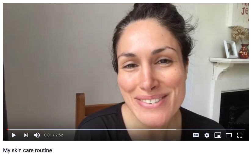LISA NOTO all-natural cosmetics skincare tutorial