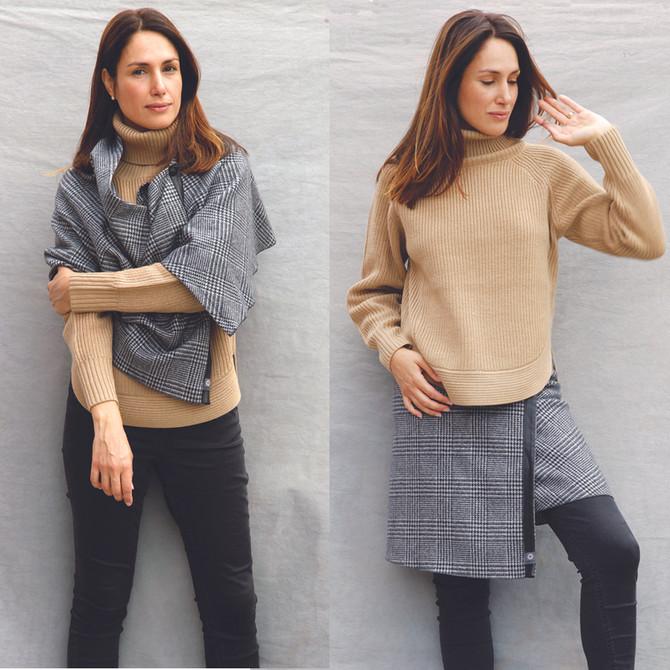 Différentes façons de porter la jupe polyvalente TUKUAN   Different ways to wear the TUKUAN skirt