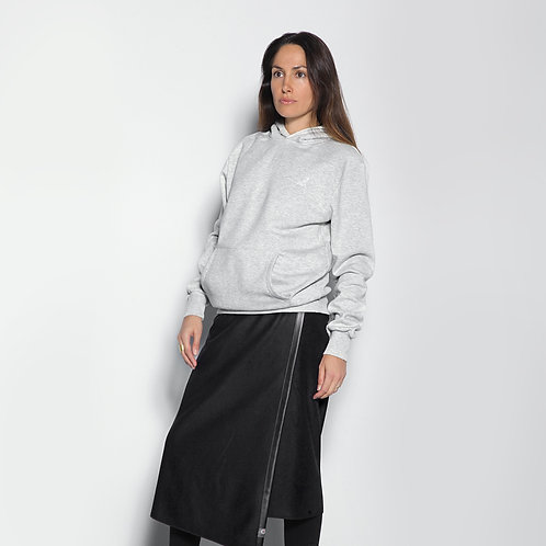 La jupe TUKUAN mi-mollet taille unique Blues