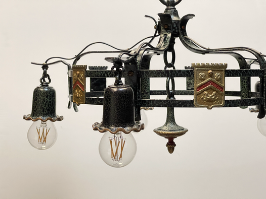 Heidelberg College Antique Light Fixture Restoration