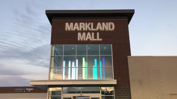 Markland Mall Lobby Chandelier RGB