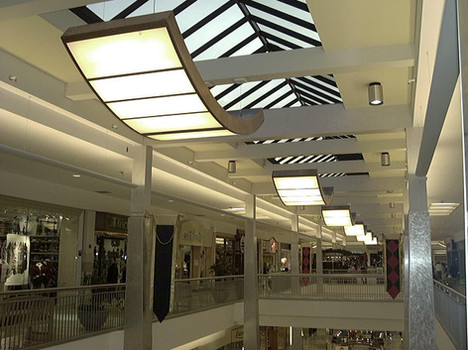 St. Clair Mall Curved Pendant Lighting
