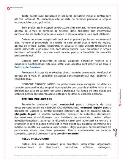 ANSAMBLURI REZIDENTIALE BUCURESTI - GDPR 5