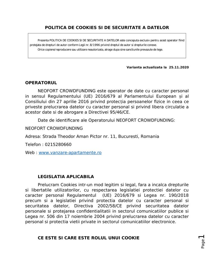 OFERTE PRET APARTAMENTE DE VANZARE 1