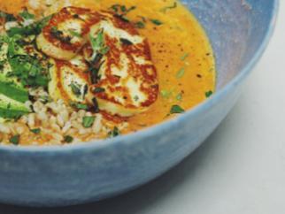 Spicy Tomato & Coconut Soup