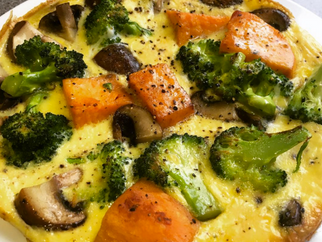 Quick and Easy Vegetable Frittata