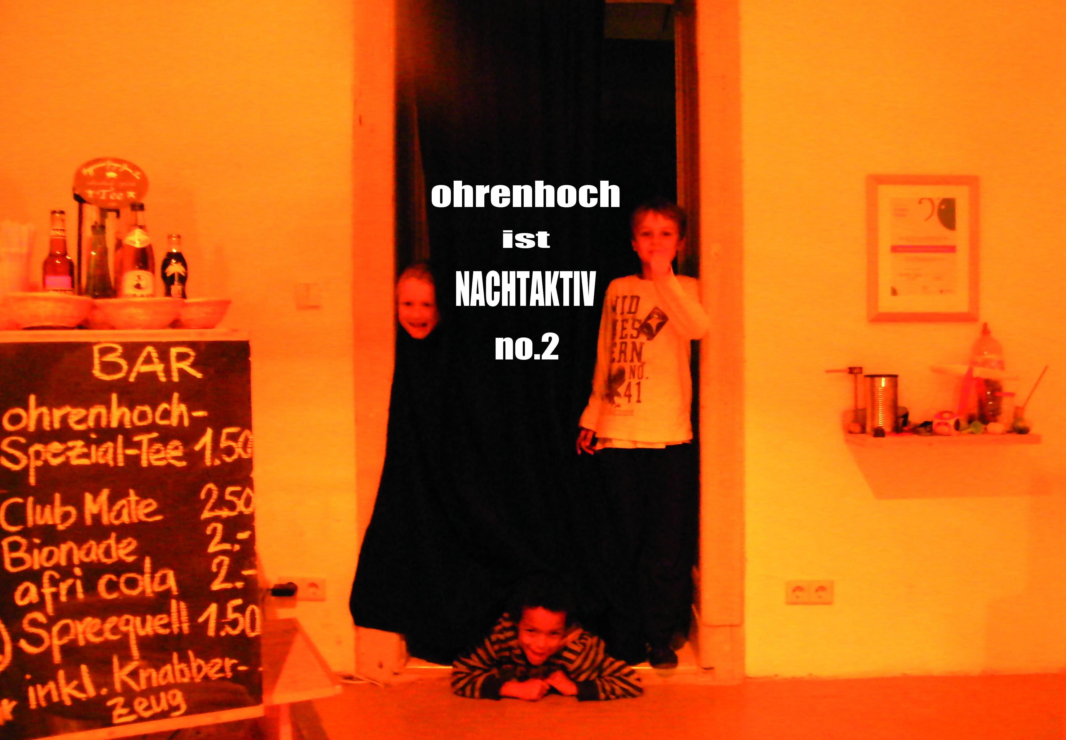 'ohrenhoch ist nachtaktiv no.2' 2011