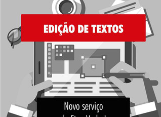 Novo serviço: edição de texto