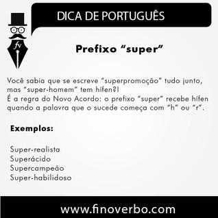 """Prefixo """"super"""""""