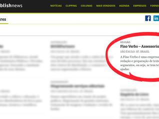 Fino Verbo no site PublishNews!