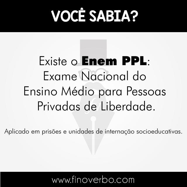 O que é o Enem PPL