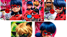 Livros da Miraculous Ladybug