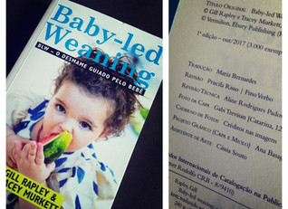 """Dica de livro: """"Baby-led weaning: o desmame guiado pelo bebê"""""""