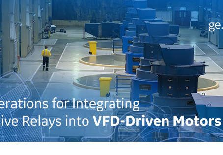 Join GE's next Tech Talk on integrating relays into VFD-driven motors