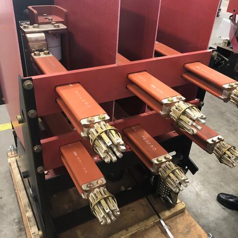 Rebuilt Medium-Voltage Breaker