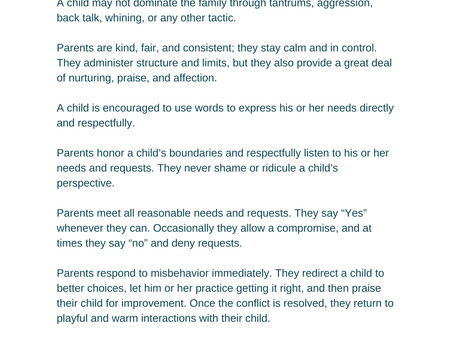 The Rules of Connected Families