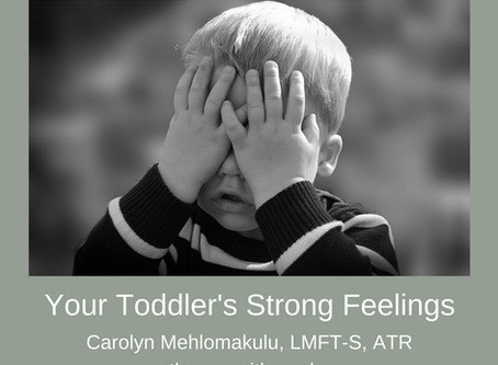 Your Toddler's Strong Feelings
