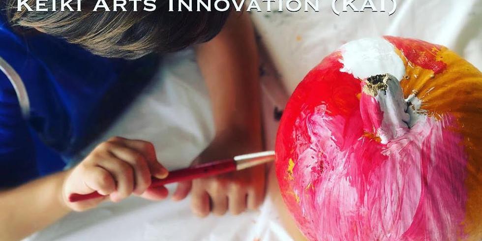 Keiki Arts Innovation (KAI) Pumpkin Workshop $15- NOW FULL
