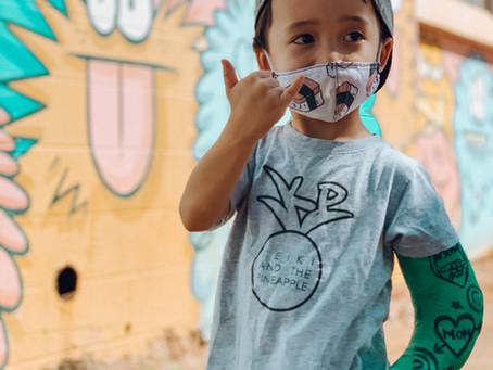 Things to do with kids in Hawai'i: Kaka'ako Graffiti Walk!