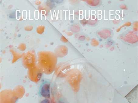Color with Bubbles!