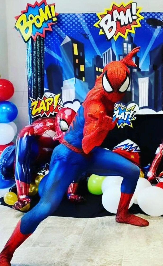 8/7 Brunch with Spider-Man (Patio)