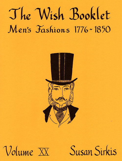 Volume 20: Men's Fashions 1776-1850