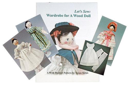 Wardrobe for A Wood Doll (DIGITAL)