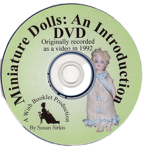 DVD 2: Miniature Dolls - An Intro to Dressmaking