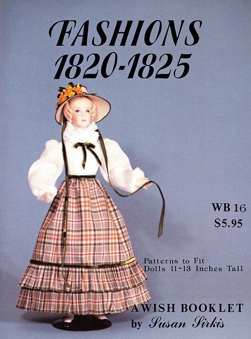 Volume 16: Fashions 1820-1825 (DIGITAL)