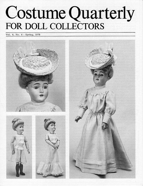 "1905 Lady Doll Costume (18"" Kestner 182)"