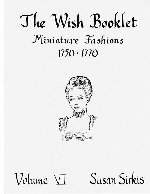 Volume 7: Miniature Fashions 1750-1770