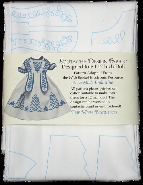 Printed Soutache Dress 12 Inch