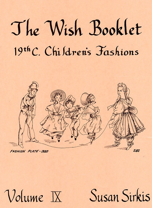 Volume 9: Children's Fashions