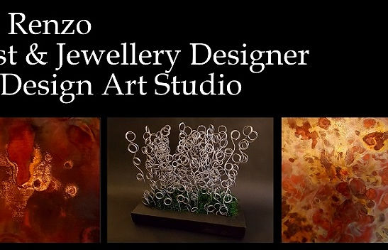 Artist and Jewellery Designer Barbara Di Renzo