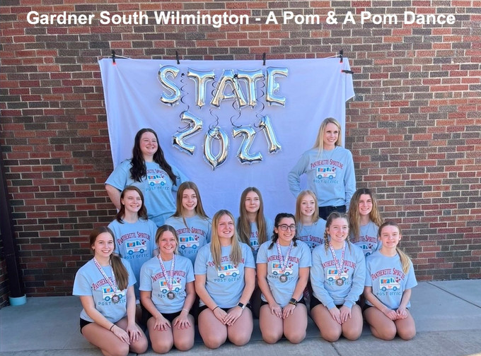 Gardner South Wilmington - A Pom & A Pom Dance