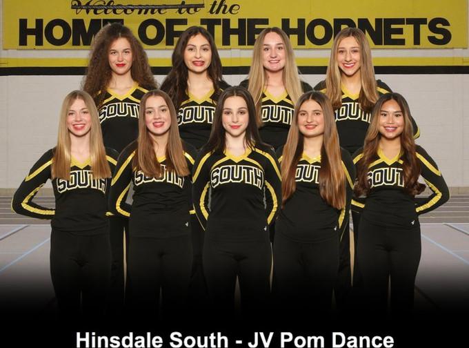 Hinsdale South - JV Pom Dance