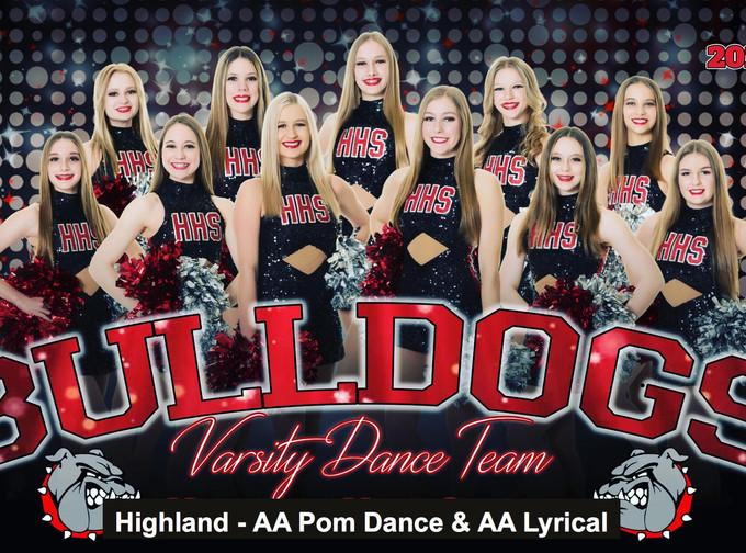 Highland - AA Pom Dance & AA Lyrical