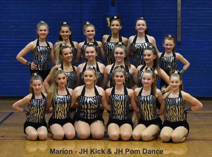 Marion - JH Kick & JH Pom Dance