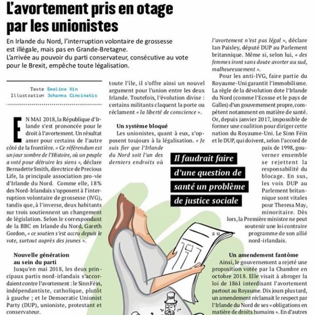 Illustration éditoriale pour le Magazine Lattitudes