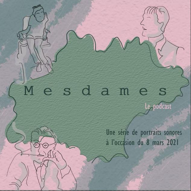 Logo Podcast Mesdames d'Occitanie
