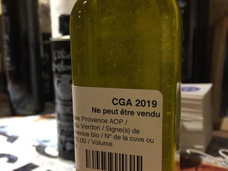 mon huile d'olive bio AOP Haute Provence participe au CGA 2019
